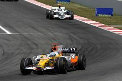 Fernando Alonso, Renault F1 Team, Jenson Button, Honda Racing F1 Team