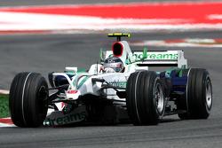 Rubens Barrichello, Honda Racing F1 Team, RA108, front wing missing