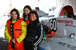 #60 Team Tfi Touax: Aline Derlot, Mary Lin Rochko, Axelle Deguisne