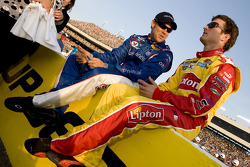 Matt Kenseth and Kasey Kahne