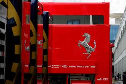 Scuderia Ferrari and FIA Trucks
