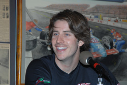 Arie Luyendyk Jr. takes part in a local radio show