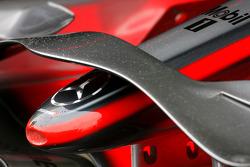 McLaren front wing detail