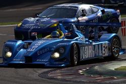 #31 Team Essex Porsche RS Spyder: Casper Elgaard, John Nielsen; #99 JMB Ferrari F430 GT: Alain Ferté, Ben Aucott