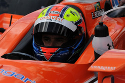 Enrique Bernoldi waiting to go out