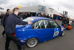 Dolate Motorsport BMW E46 325i at technical inspection