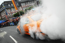 A large burnout