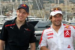 Sébastien Bourdais, Scuderia Toro Rosso, Sébastien Loeb, Citroen World Rally driver