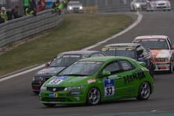 #93 Fleper Motorsport Honda Civic: Hisanao Kurata, Norbert Bermes