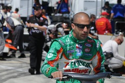 Tony Kanaan riding his motor bike