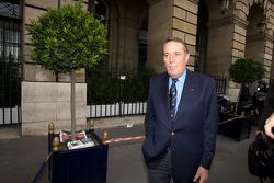 FIA deleguates exits the FIA Place de la Concorde headquarters after the Extraordinary General Assembly: Nicolas Deschaux: Michel Boeri