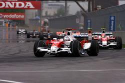 Jarno Trulli, Toyota F1 Team, Timo Glock, Toyota F1 Team