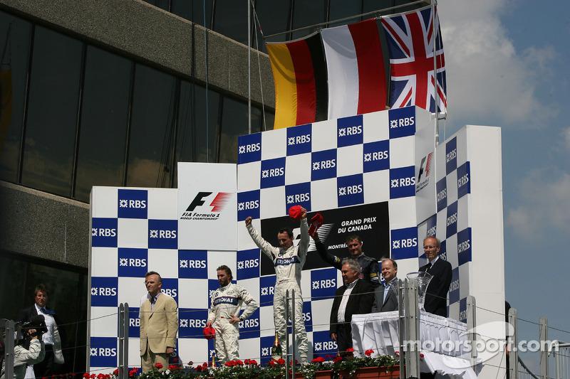 2008. Подіум: 1. Роберт Кубіца, BMW Sauber. 2. Нік Хайдфельд, BMW Sauber. 3.  Девід Култхард, Red Bull - Renault