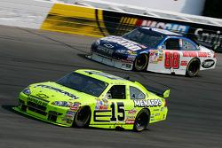 Paul Menard and Dale Earnhardt Jr.