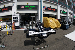 Williams F1 Team pit area
