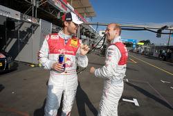 Martin Tomczyk, Audi Sport Team Abt Sportsline, Audi A4 DTM and Alexandre Prémat, Audi Sport Team Phoenix, Audi A4 DTM