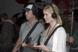 Jimmie Johnson at the Guitar Hero VIP Party