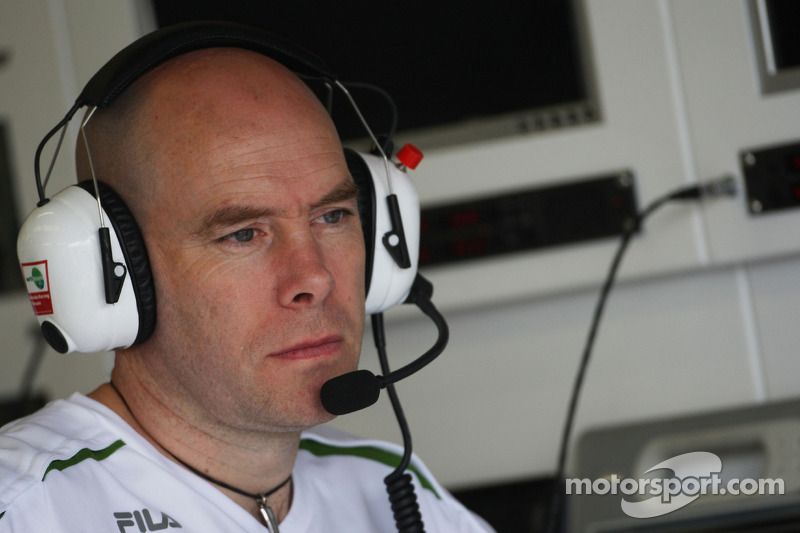 Jock Clear, Honda Racing F1 Team, Senior Race Engineer to Rubens Barrichello