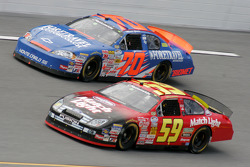 Marcos Ambrose and Mark Green