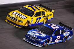 Sam Hornish Jr. and Kurt Busch