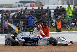 Robert Kubica, BMW Sauber F1 Team, F1.08 , retired