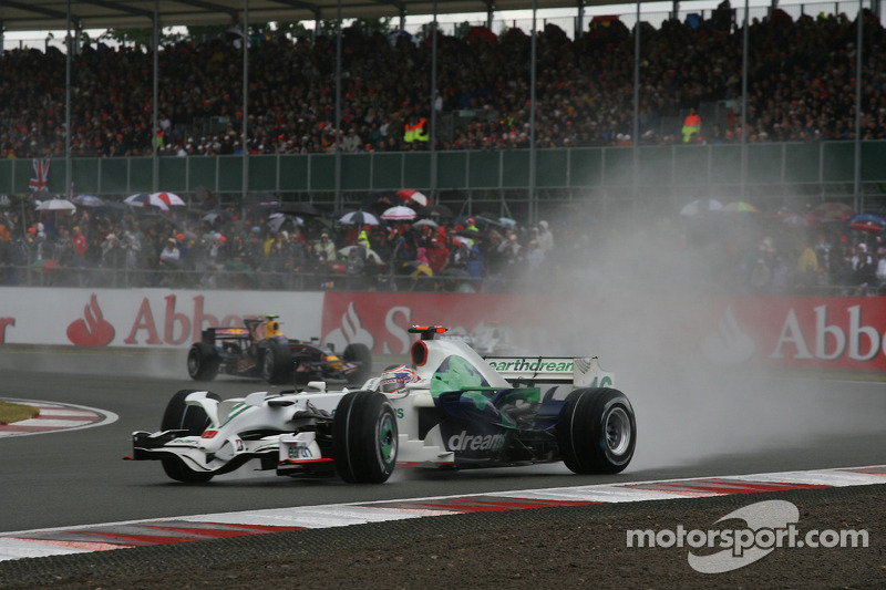 Jenson Button, Honda Racing F1 Team, RA108 gira