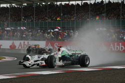Jenson Button, Honda Racing F1 Team, RA108 spins