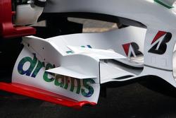 Front Wing of Alexander Wurz, Test Driver, Honda Racing F1 Team