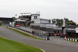 Donington Park circuit overview