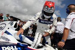 Marco Asmer, Test Driver, BMW Sauber F1 Team- Goodwood Festival of Speed 2008