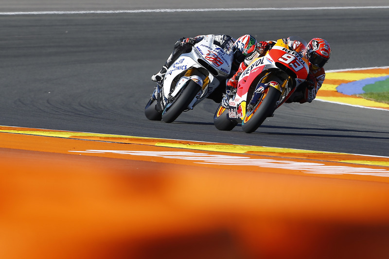Марк Маркес, Repsol Honda Team та Нікі Хейден, Aspar MotoGP Team