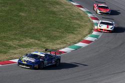 "#55 Scuderia Autoropa Ferrari 458: ""Babalus"" in testa al gruppo"
