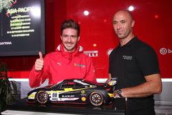 #88 Baron Service Ferrari 458 : Florian Merck, vainqueur du prix de la meilleure livrée