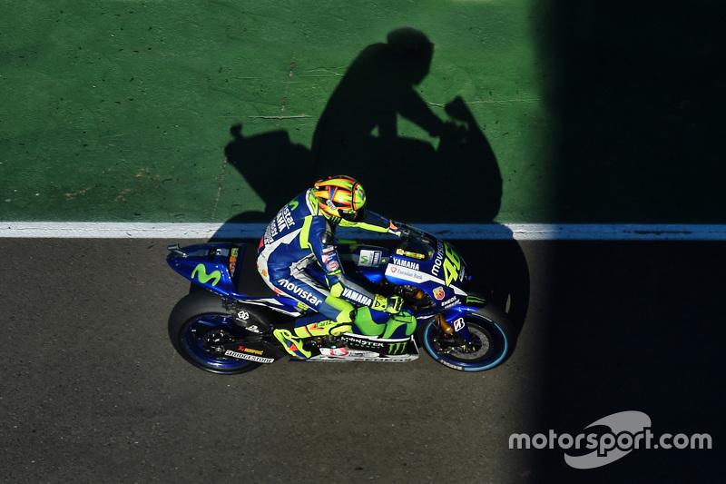 #8: Valentino Rossi beim MotoGP-Saisonfinale