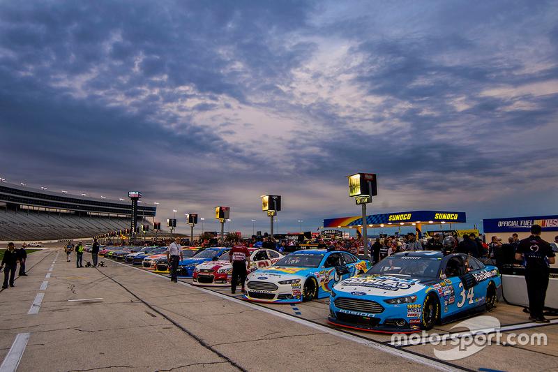 Qualifying from pit lane