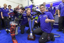 Winner and 2015 MotoGP Champion Jorge Lorenzo, Yamaha Factory Racing