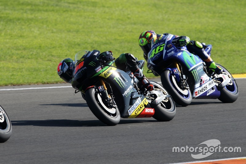 Bradley Smith, Tech 3 Yamaha y Valentino Rossi, Yamaha Factory Racing