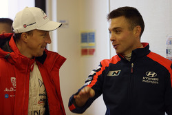 Hayden Paddon and John Kennard, Hyundai Motorsport