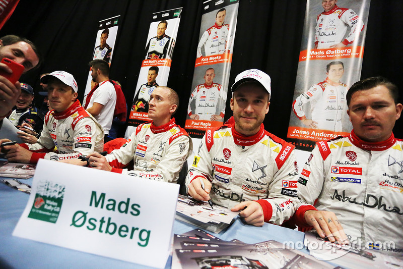 Медс Остберг та Йонас Ендерсон з Кріс Міке та Пол Негл, Citroën World Rally Team