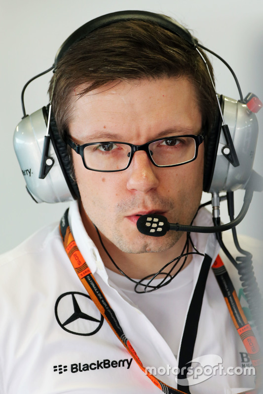 Peter Bonnington, Mercedes AMG F1 Race Engineer
