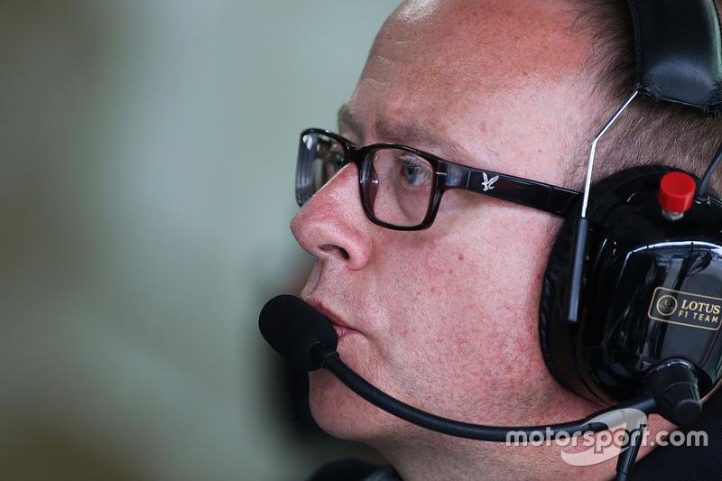 Марк Слейд, Lotus F1 Team гоночний інженер