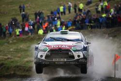马兹·奥斯特伯格、乔纳斯·安德森、克里斯·米克、保罗·纳杰尔,雪铁龙WRC车队