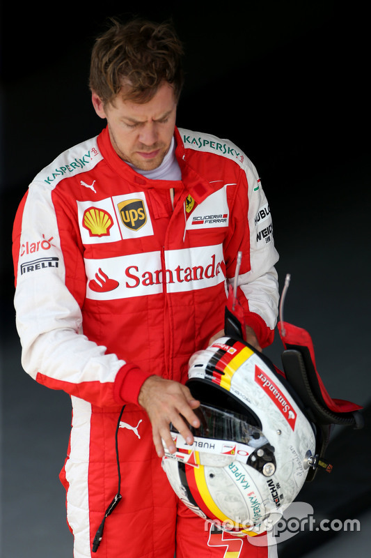 3. Sebastian Vettel, Ferrari SF15-T