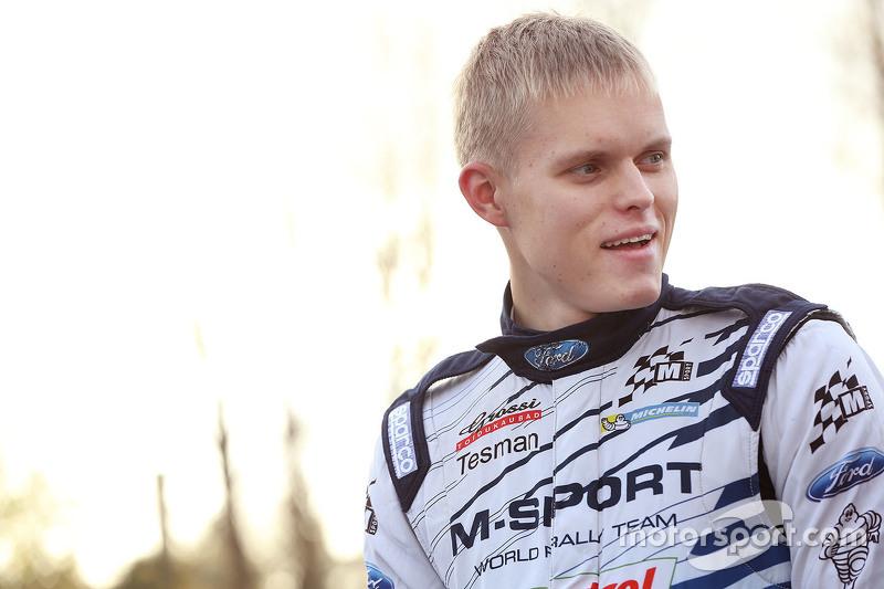 Отт Танак, M-Sport