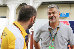 (L to R): Сиріл Абітебул, Renault Sport F1 Managing Director з Дітер Гасс, Audi Sport Head of DTM