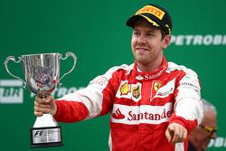 Третье место - Себастьян Феттель, Scuderia Ferrari