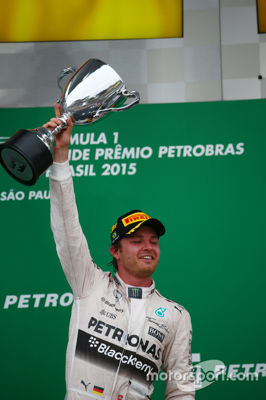 Winnaar Nico Rosberg, Mercedes AMG F1 Team