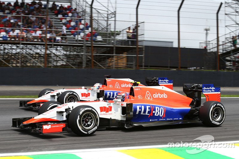 Александр Росси и Уилл Стивенс, Гран При Бразилии