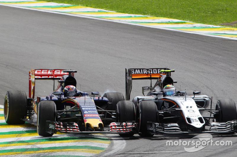 Гран При Бразилии, 15 ноября. Борьба Серхио Переса и Макса Ферстаппена