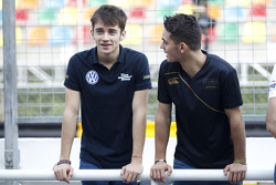 Charles Leclerc, Van Amersfoort Racing Dallara Volkswagen en Dorian Boccolacci, Signature Dallara Volkswagen